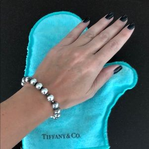 Tiffany and Co silver ball bracelet